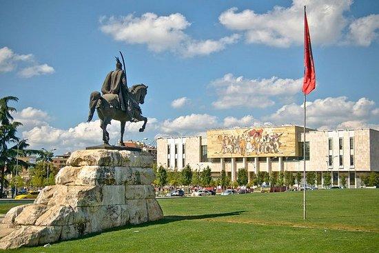 Tirana and Durres from Ohrid
