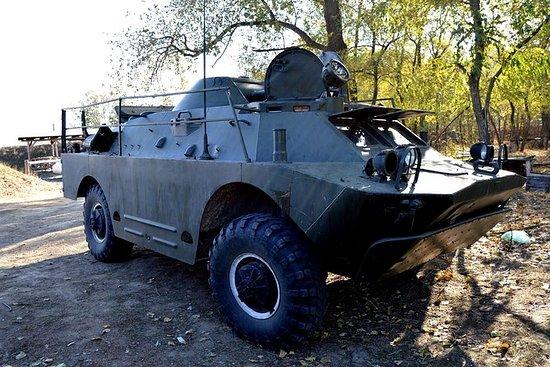 BRDM-2 driving