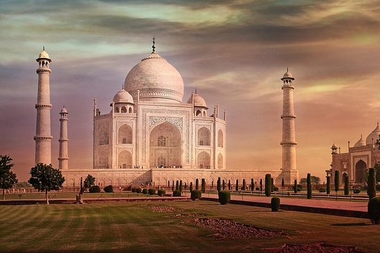 Excursão Privada Taj Mahal e Agra Fort...