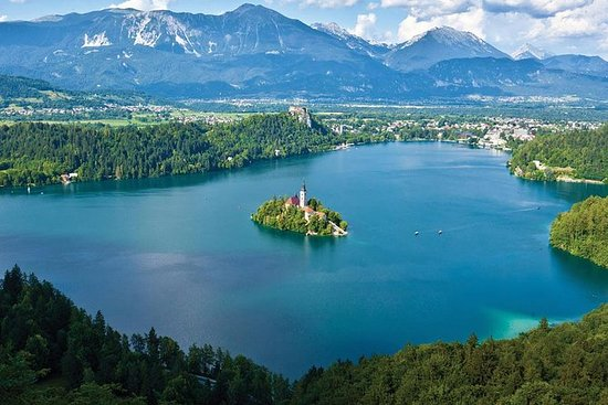 Lake Bled og Ljubljana Tour fra Piran