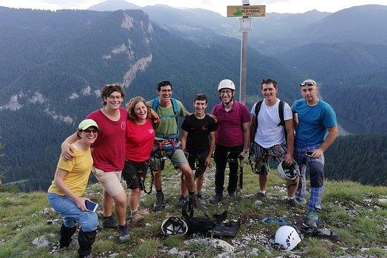 Private Klettersteig Tour in der Nähe...