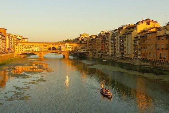 贡多拉:真正的佛罗伦萨Barchino 1小时全景游
