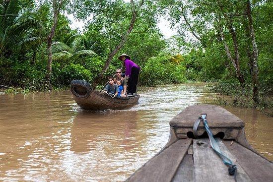 Delta du Mékong - Marché flottant de...