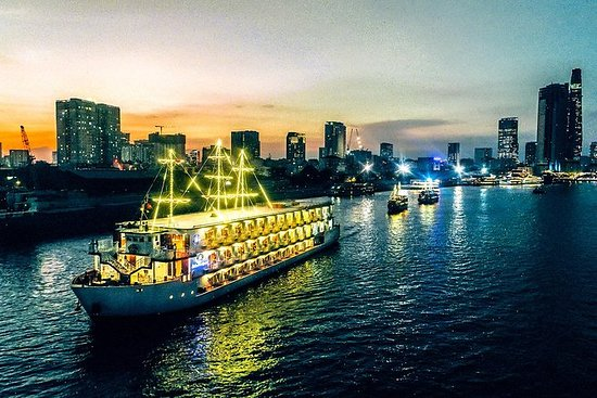 Middag Cruise på Saigon River