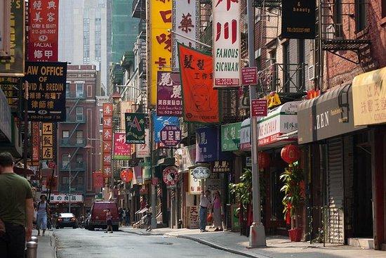 Chinatown, Manhattan Bridge y Lower...