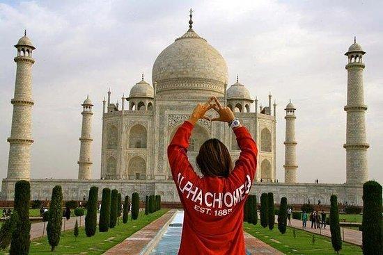 从德里开车的同一天阿格拉之旅