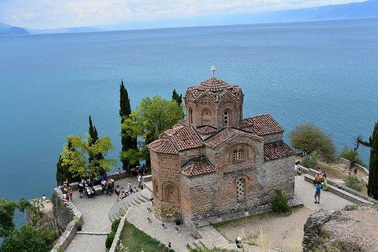 Tour di Ohrid e Bay of Bones da Skopje