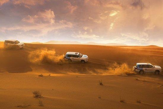 Dubai: Sunset Camel Trek & Red Dunes...