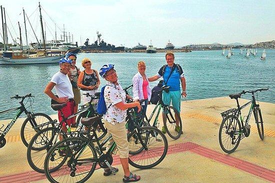 半日雅典里维埃拉私人自行车之旅