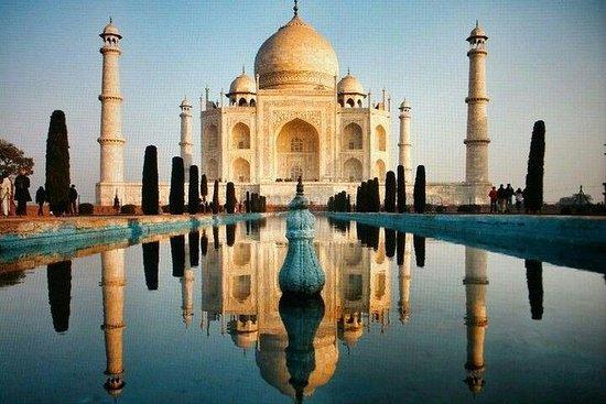 从德里开车的全日阿格拉之旅