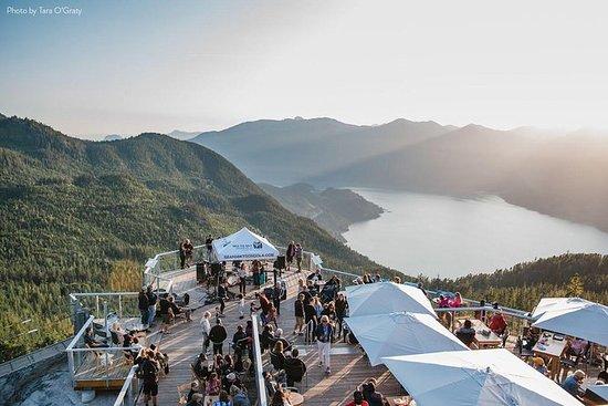 Vancouver para Squamish tour privado...