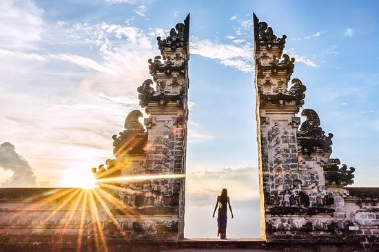 THE GATE OF PARADISE AND EAST BALI...