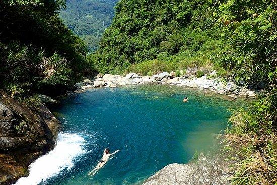 Mugua River Gorge Wasserfälle...