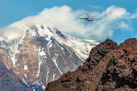 Tour en hélicoptère au Kamchatka...