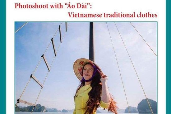 Luxury Halong Bay full day tour from Hanoi (free Ao Dai to take photo)