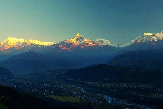 Vista del amanecer desde Sarangkot