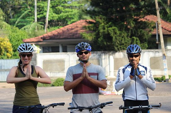 Cycling in Galle Countryside
