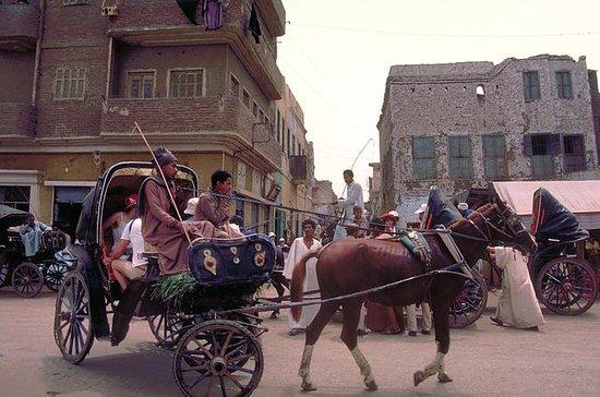 Visita de la ciudad en Luxor en coche...