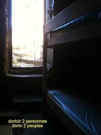 Hostel Chez Mc Donald: dortoir 2 personnes sans fenêtre