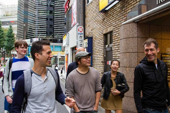 Meguro, Japan: Moving to the next Ramen Shop