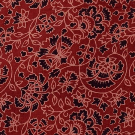 """Индор, Индия: The origin of Ajrakh or Ajrak hand block printing technique is unknown, with several interpretations floating around the space. While some refer to it having been originated from """"azrak"""", an Arabic term, meaning Indigo,"""