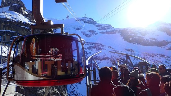 Mount Titlis excursion from Engelberg: Titlis Rotair