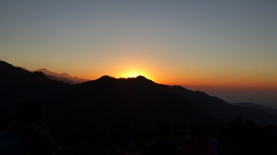 Sunrise time from Poonhill ,  Ghorepani poonhill trekking in Nepal with guide Tulasi Ram Paudel, Poonhill trekking, Ghandruk ghorepani trekking in Nepal, best guide from Nepal, trek guide from Pokhara,