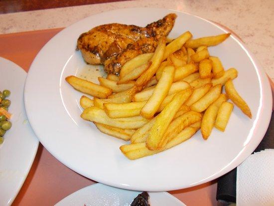 Cafeteria Le Flamant: poulet fritte