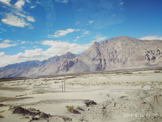 Долина Нубра, Индия: Sand dunes, Camel ,peace, vastness, beauty and No mobile network !!!😄.