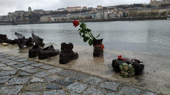 Shoes on the Danube Bank
