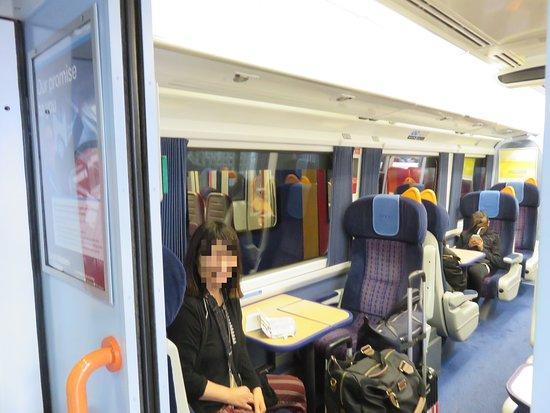 South Western Railway: first class車内