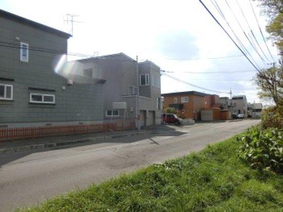 Ebetsu, Japan: 遺跡は住宅街に代わってしまいました