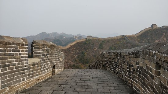 The Great Wall of Gubeikou: this is how the fully restored parts look