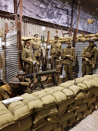 War Years Remembered (War Museum): Some of the displays