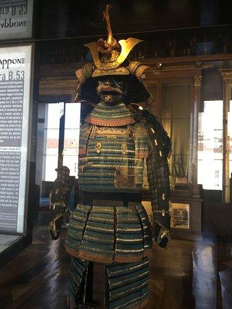 Armeria Reale: Armadura japonesa