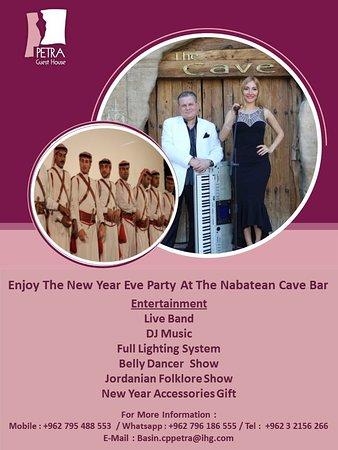The New Year Eve Party Cave Bar