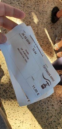 Transbordador Aeri Del Port: tickets