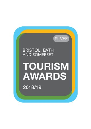 We've won Silver in Bristol, Bath & Somerset Tourism Pub of the Year.  Yaaaayyyyy!!