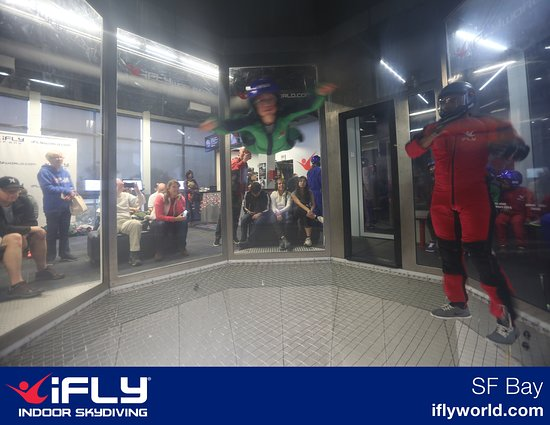iFLY: Only one where he was facing the camera and it's blurry.