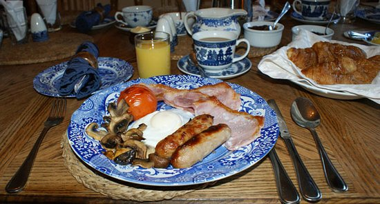 Auplands Guest House: Breakfast