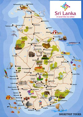 Sigiri Journey: Sri Lanka  The Wonder Of Asia
