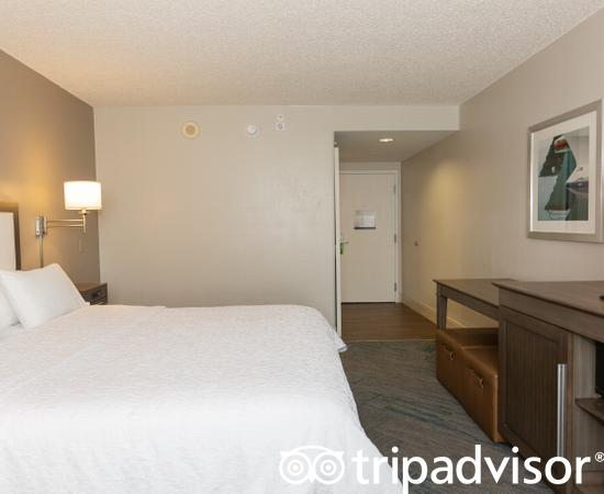 The King Size Deluxe at the Hampton Inn Ft. Lauderdale /Downtown Las Olas Area
