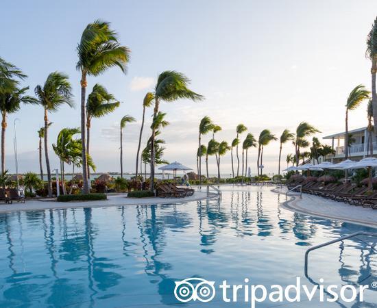 Pool at the Hawks Cay Resort
