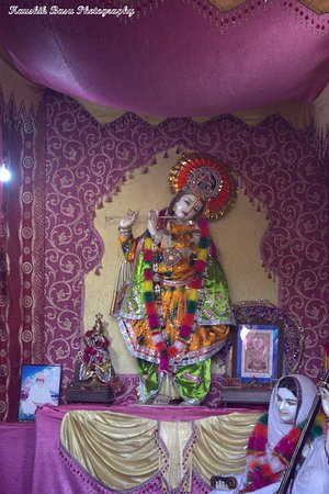View of Lord Krishna who Mirabai used to sit and pray.