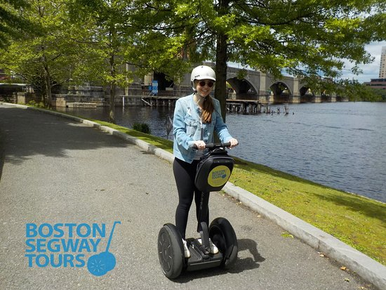 """Create #fun #memories with us as we visit the #harbor to highlights of the #FreedomTrail & more! Learn why #Boston #Segway #Tours is called """"The Best Way To See The City""""! 😎 www.bostonsegwaytours.net"""