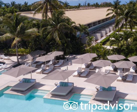 Aerial Photography at the Presidente Inter-Continental Cozumel Resort & Spa