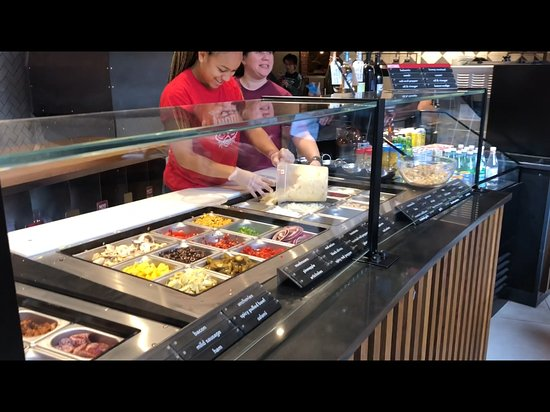 MOD Pizza: Some of the many toppings