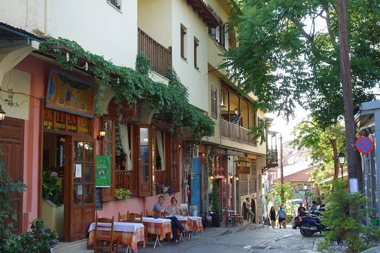 Thessaloniki Region, Greece: upper city, jinari