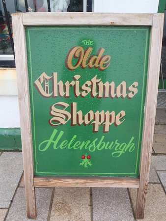 Our beautiful hand painted sign
