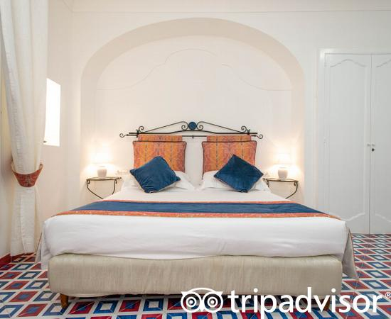 The Deluxe Double Room, Partial Sea View at the Hotel Montemare